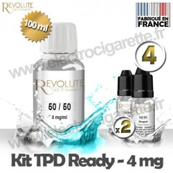 Kit TPD Ready DiY 4 mg - 50% PG / 50% VG - Revolute