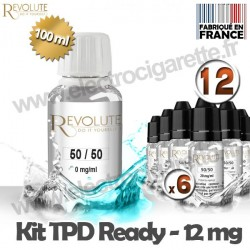 Kit TPD Ready DiY 12 mg - 50% PG / 50% VG - Revolute