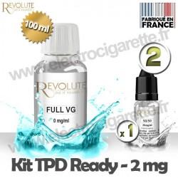 Kit TPD Ready DiY 2 mg - Full VG - Revolute