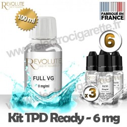 Kit TPD Ready DiY 6 mg - Full VG - Revolute