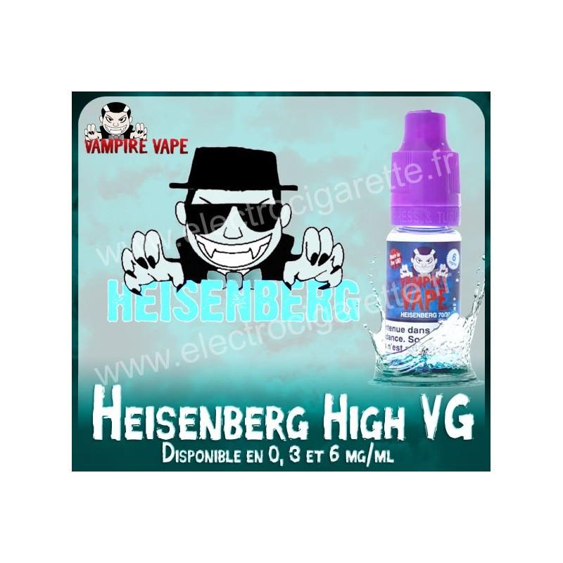 Heisenberg High VG - Vampire Vape - 10 ml