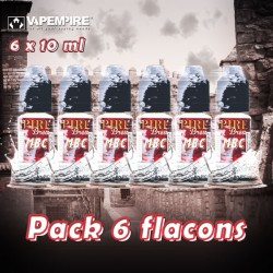 Pack 6 flacons - Vape Empire - 3x10 ml