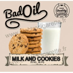 Bad Oil - Milk and Cookies - 10 ml