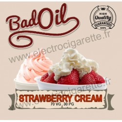 Bad Oil - Strawberry Cream - 10 ml