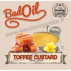 Bad Oil - Toffee Custard - 10 ml