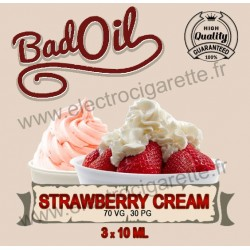 Bad Oil - Strawberry Cream - 3x10 ml