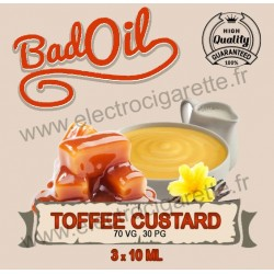 Bad Oil - Toffee Custard - 3x10 ml