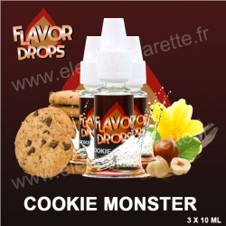 Cookie Monster - Flavor Drops - 3x10 ml