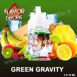 Green Gravity - Flavor Drops - 3x10 ml