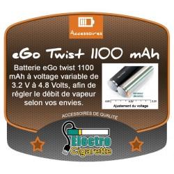 Batterie eGo TWIST 1100 mAh