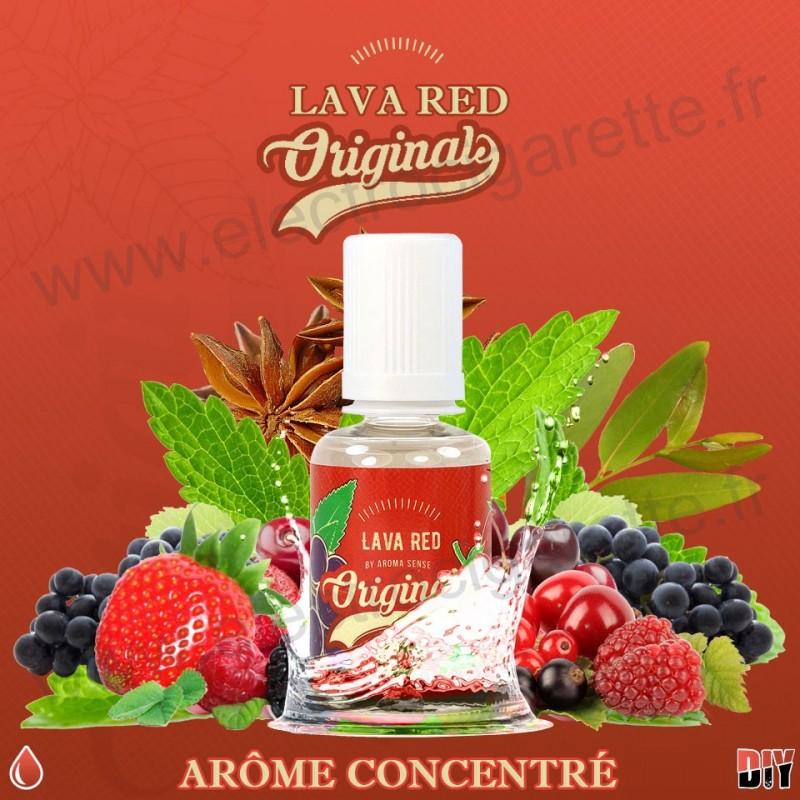 Lava Red - Fifty - Aroma Sense - 30 ml - Arôme concentré