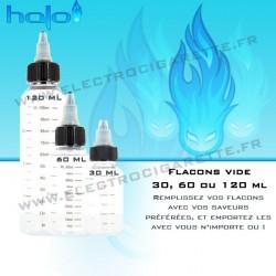 Flacon pour emportez vos saveurs Halo