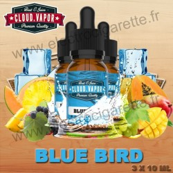 Blue Bird - Cloud Vapor Vintage - 3x10 ml