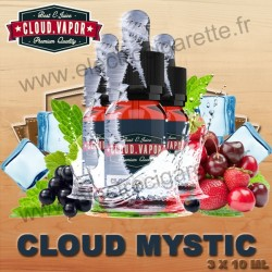 Cloud Mystic - Cloud Vapor Vintage - 3x10 ml
