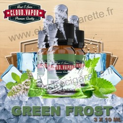 Green Frost - Cloud Vapor Vintage - 3x10 ml