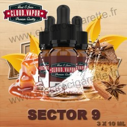 Sector 9 - Cloud Vapor Vintage - 3x10 ml