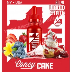 Coney Cake - Liquid State Vapors - 60 ml