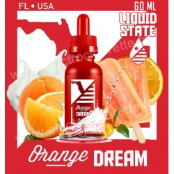 Orange Dream - Liquid State Vapors - 60 ml