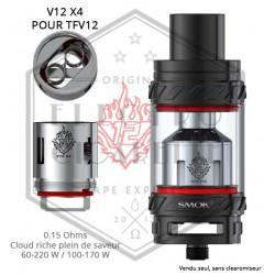 Résistance V12 X4 TFV12 - 0.15 ohm - Smoktech