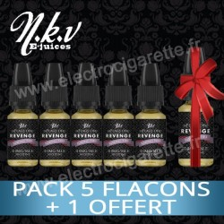 Pack 5 flacons + 1 flacon offert - Flag of Revenge - NKV E-Juices