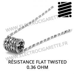 Résistance Flat Twisted en 0,36 Ohm