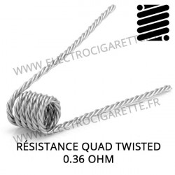 Résistance Quad Twisted en 0,36 Ohm