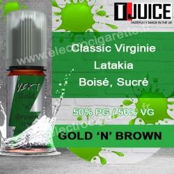 Gold N Brown - T-Juice Vert
