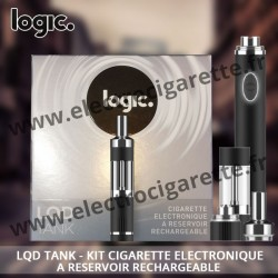 LQD Tank à réservoir rechargeable - Cigarette electronique Logic Pro