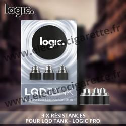 Pack 3 x résistances pour LQD Tank - Logic Pro