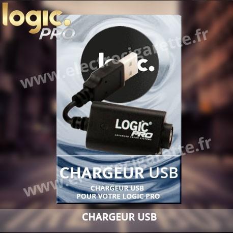 Cordon de charge Usb pour batterie Logic - Boite