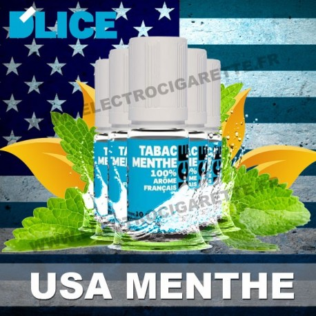 Pack 5 flacons 10 ml USA Menthe - D'Lice - Pack x 5