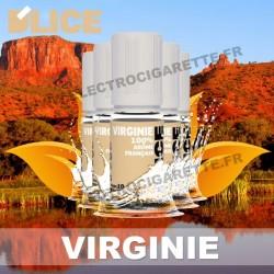 Pack 5 flacons 10 ml Classic Virginie - D'Lice
