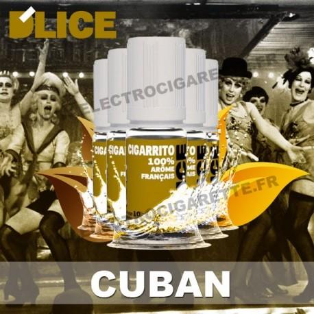 Pack 5 flacons 10 ml Cuban - D'Lice