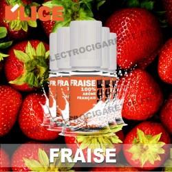 Pack 5 flacons 10 ml Fraise - D'Lice