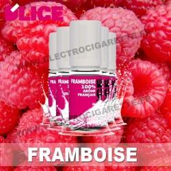 Pack 5 flacons 10 ml Framboise - D'Lice