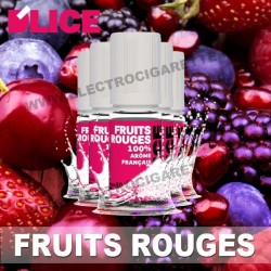 Pack 5 flacons 10 ml Fruits rouges - D'Lice
