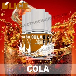 Pack 5 flacons 10 ml Cola - D'Lice