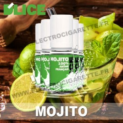 Pack 5 flacons 10 ml Mojito - D'Lice
