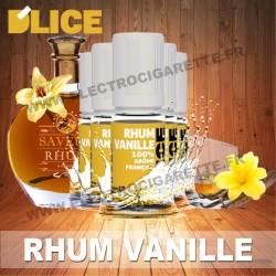 Pack 5 flacons 10 ml Rhum Vanille - D'Lice