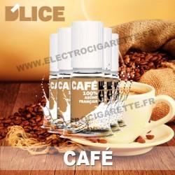 Pack 5 flacons 10 ml Café - D'Lice