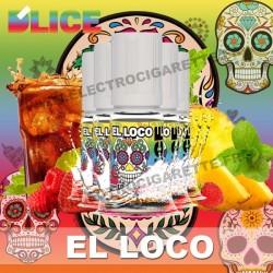 Pack 5 flacons 10 ml El Loco - D'Lice Série Spéciale