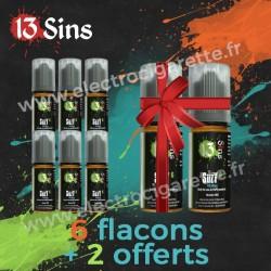 Pack 6 flacons + 2 offerts - 13 Sins - 10 ml