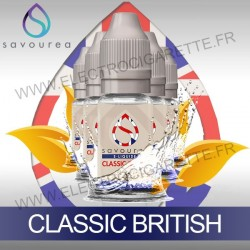 Pack 5 flacons 10 ml Classic British - Savourea