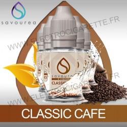 Pack 5 flacons 10 ml Classic Café - Savourea