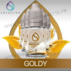 Pack 5 flacons 10 ml Goldy - Savourea