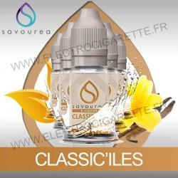 Pack 5 flacons 10 ml Classic'Iles - Savourea