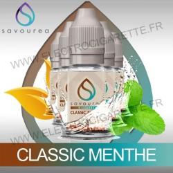 Pack 5 flacons 10 ml Classic Menthe - Savourea