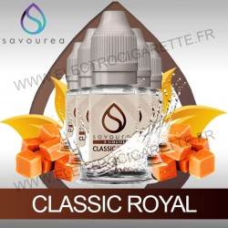 Pack 5 flacons 10 ml Classic Royal - Savourea