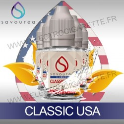 Pack 5 flacons 10 ml Classic USA - Savourea