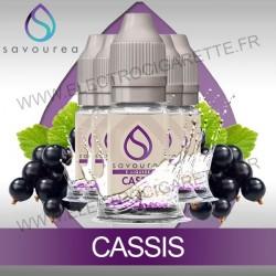Pack 5 flacons 10 ml Cassis - Savourea